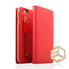 IPhone 6s Plus / 6 Plus Zipper Calf Skin Leather case SLG D5 - Patchworks Global Inc - 5