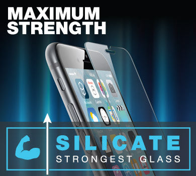 Maximum Strength Silicite Glass