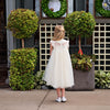 Magnolia Ivory Ruffle & Tulle Smock Dress - Just Couture
