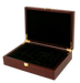Wood mahogany poker chips case with room for 200 poker chips