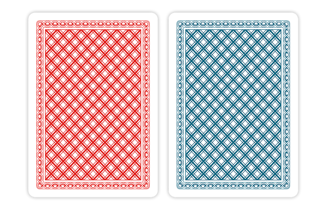 CHIP and GAMES set of 100% plastic playing cards