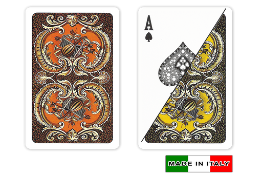 Harmony design plastic playing cards by DA VINCI