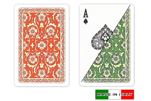 Venezia 100% plastic Italian playing cards by DA VINCI - bridge size normal index with 2 decks
