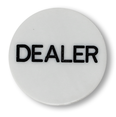 2 inch poker dealer button