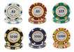 Clay 14 gram Monte Carlo poker chips