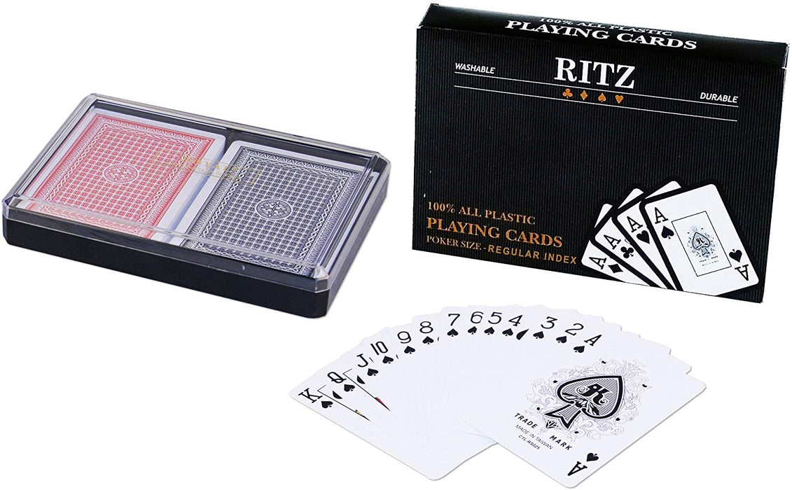 100% poker playing cards by RITZ - Normal index