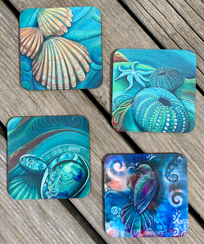Coasters - (Set of 6) Mixed