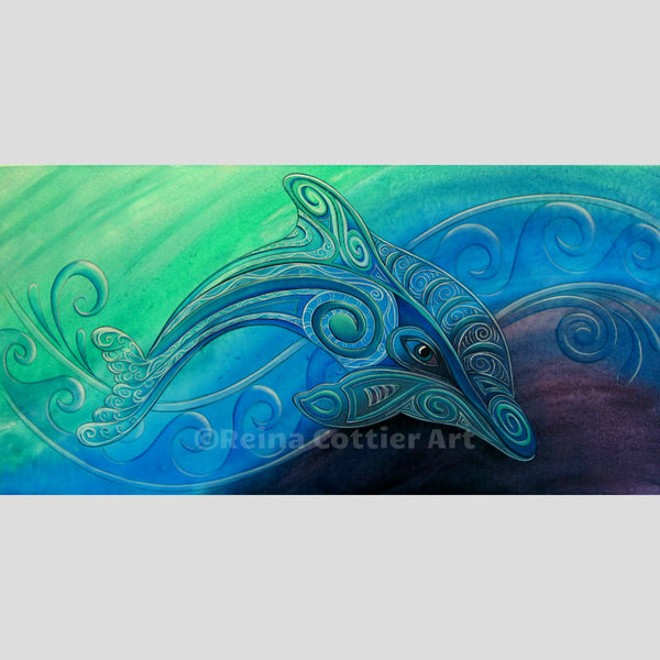 Canvas Print - Dolphin (3 sizes)