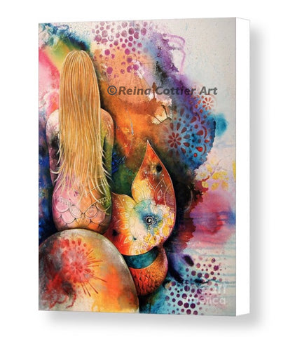 Canvas Print - Mermaid 1   (4 sizes)