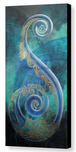 Canvas Print - Regal Koru (3 sizes)