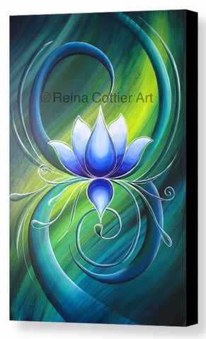 Canvas Print - Lotus 2 (4 sizes)