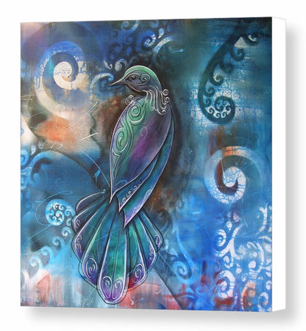 Canvas Print-NZ Native Tui   (5 sizes)