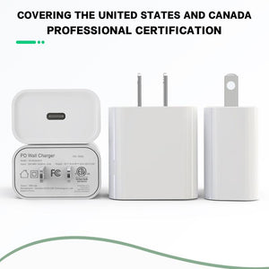iPhone Charger, 2 Pack 6FT Lightning Cable Fast Charging Data Sync Transfer Cord with Dual Port USB Wall Charger