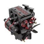 Load image into Gallery viewer, Fuel 2-cylinder 4-stroke nitro RC engine model