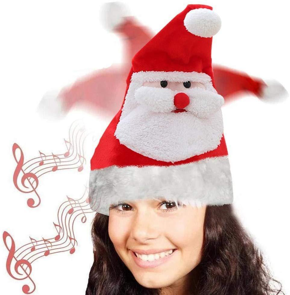 Electric christmas hat