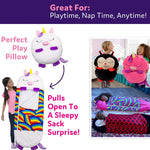 Load image into Gallery viewer, Happy Nappers Pillow & Sleepy Sack