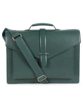 Load image into Gallery viewer, Green Hard Laptop Bag