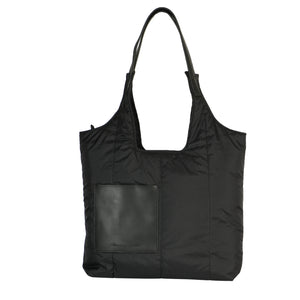 Soft tote bag in waterproof fabric