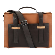 Load image into Gallery viewer, Bowler Bag (Small) - Shades of Brown