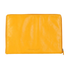 Load image into Gallery viewer, Laptop Sleeve with Zip (Yellow)