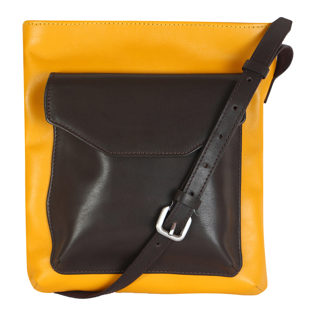 TOP ZIP (YELLOW SUBMARINE) - CROSS BODY SLING VERTICAL