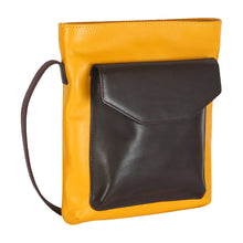 Load image into Gallery viewer, TOP ZIP (YELLOW SUBMARINE) - CROSS BODY SLING VERTICAL