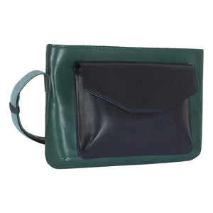 TOP ZIP (FOREST GREEN) - CROSS BODY SLING