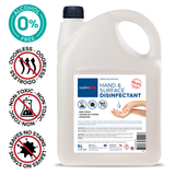 Northmed Alcohol-Free Hand & Surface Disinfectant Liquid without aroma, 5L