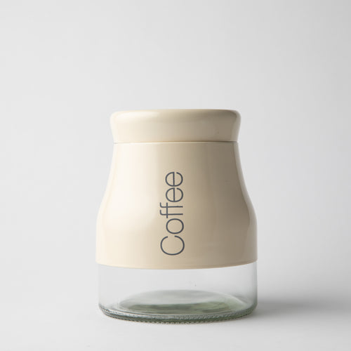 HOTEL COLLECTION - Cream Coffee Jar