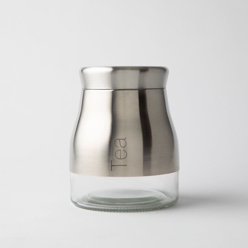 HOTEL COLLECTION - Stainless Steel Tea Jar