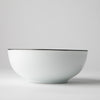 JENNA CLIFFORD - Premium Porcelain 16cm Cereal Bowl With Black Band