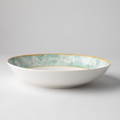 JENNA CLIFFORD - Green Floral Pasta Bowl Set of 4