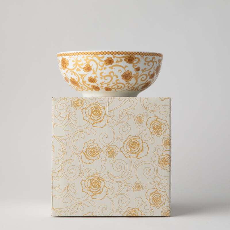 JENNA CLIFFORD - Mica Gold Cereal Bowl Set of 4