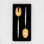 JENNA CLIFFORD - Satin Salad Server Set