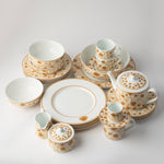 JENNA CLIFFORD - Mica Gold Side Plate Set of 4
