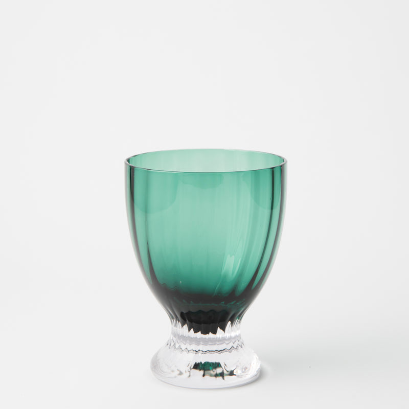 JENNA CLIFFORD - Water Glass Green Set of 4