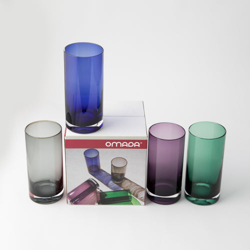OMADA - Hi Ball Purple Set of 4