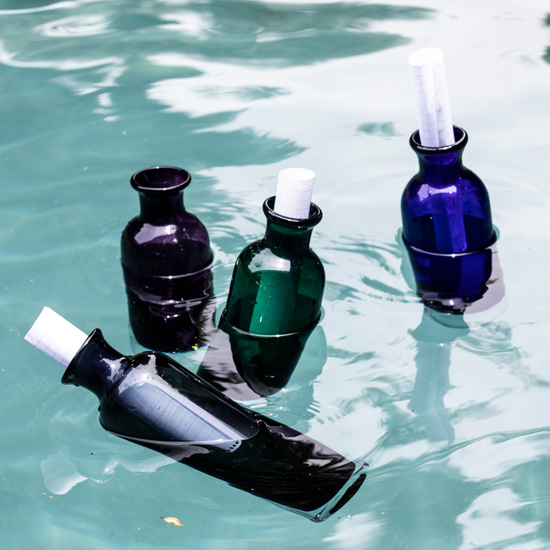 OMADA - Bottle with Lid Blue
