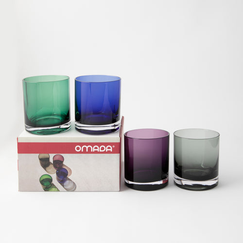 OMADA - Tumbler Black Set of 4