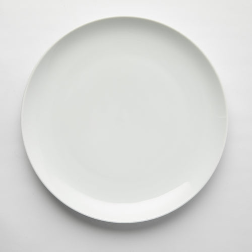 GALATEO - Super White Coupe Dinner Set of 4 + Salad Bowl