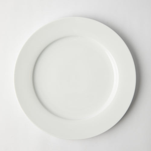 GALATEO - Super White Rim Dinner Set of 4 + Salad Bowl