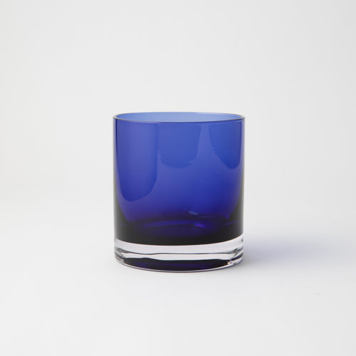OMADA - Blue Colour Glasses Set of 8