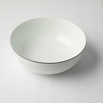 JENNA CLIFFORD - Premium Porcelain Dinner Set of 4 + Salad Bowl