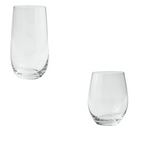 JENNA CLIFFORD - Crystal Hi Ball & Tumbler Set of 8