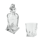 BOHEMIA CRYSTAL - Quadro Whiskey Set