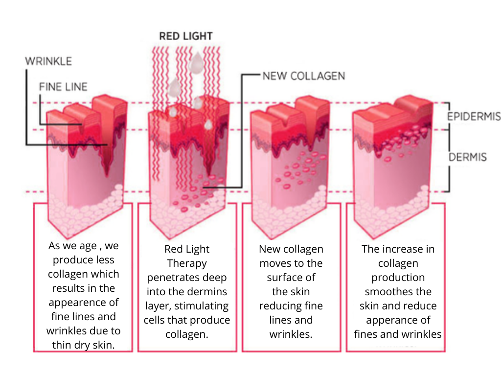 Red Light Therapy Process