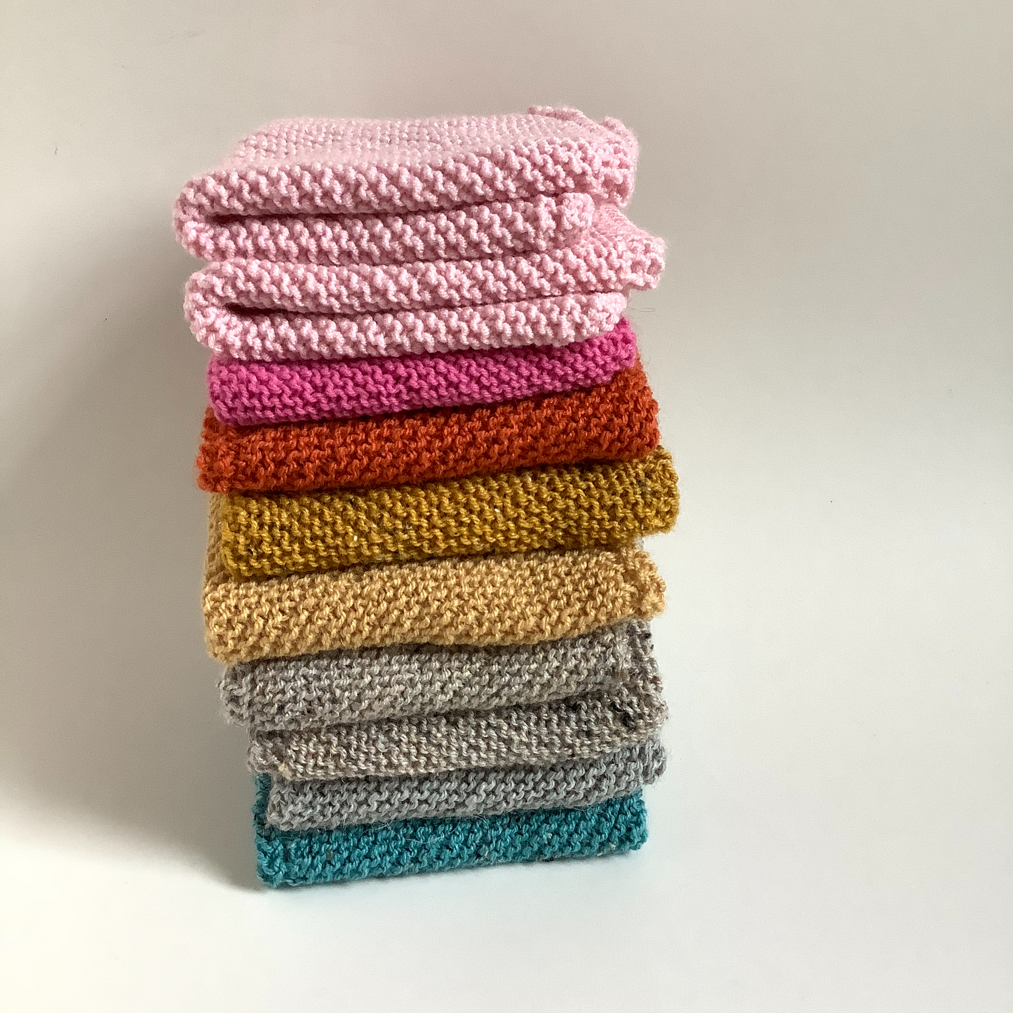 Doll blankets - handknitted