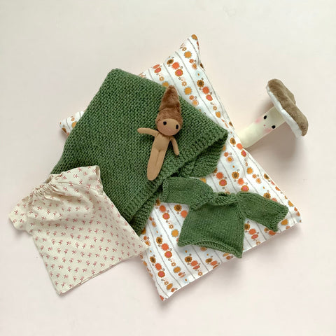 Doll woodland accessories set