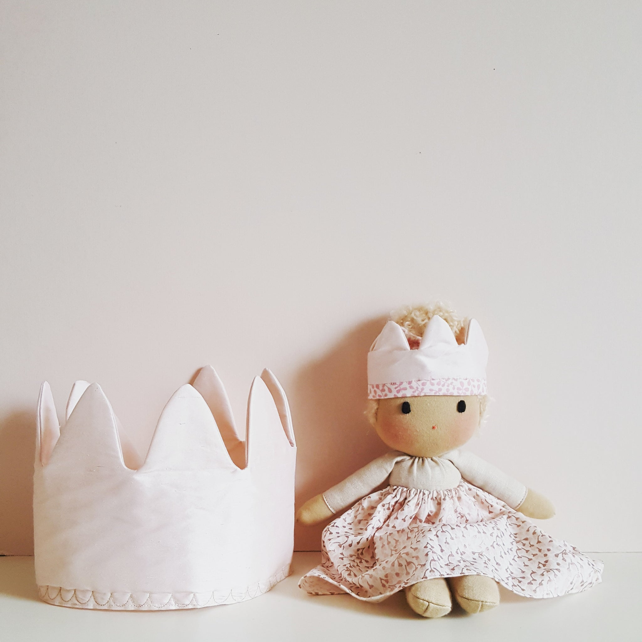 Child's silk dress up crown