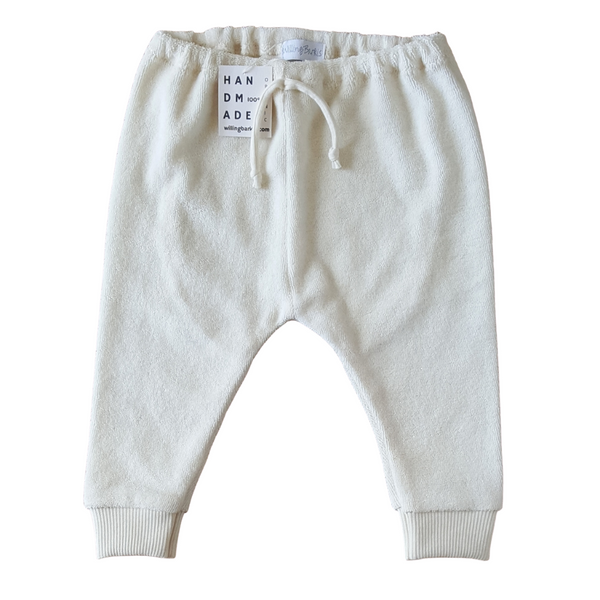 Organic Terry Trousers 0-3 months